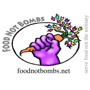 Food Not Bombs sticker
