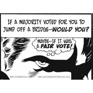 Jump off a Bridge sticker