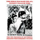 This world was made for all.... sticker