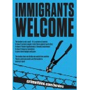 Immigrants Welcome ... sticker