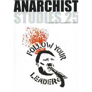 Anarchist Studies Vol 25 *2 Oct 2017
