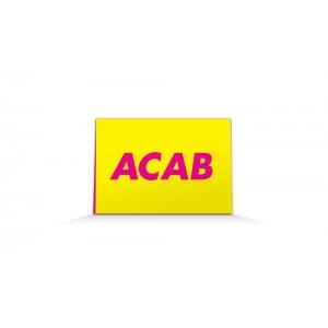 ACAB pamphlet