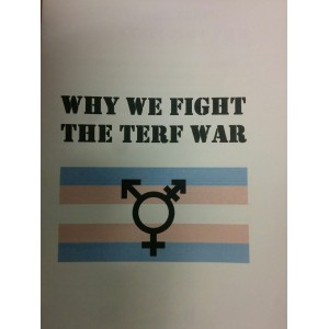 Why we fight the Terf war