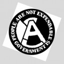 35, People Are Not Expendable badge