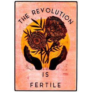The Revolution is Fertile Sticker