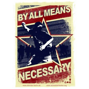 By All Means Necessary sticker