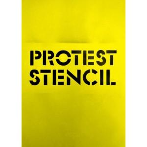 Protest Stencil A6