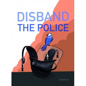 Disband the police sticker