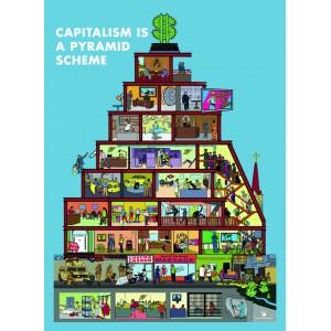 Capitalist Pyramid Sticker