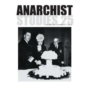 Anarchist Studies Vol 25 *1 2017