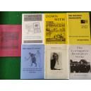 Bundle of history pamphlets