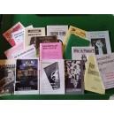 Total random old pamphlet bundle