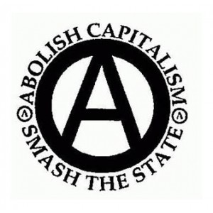 Abolish Capitalism, Smash the State... Badge 9