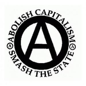 Abolish Capitalism, Smash the State... Badge 9